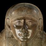 Sarcophage de Tentapi, détail du visage