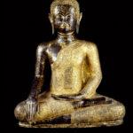 Bouddha doré, photographe Georges Poncet