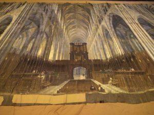 Diorama de Westminster, détail