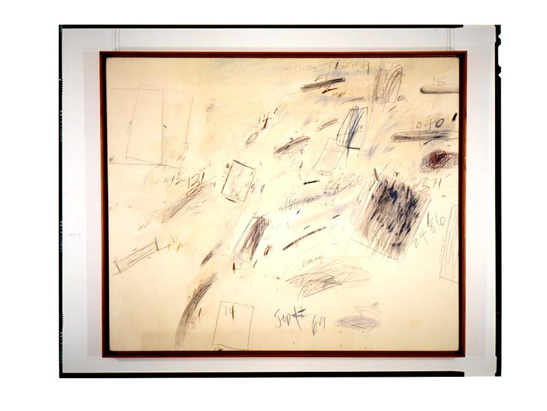 Cy Twombly, photographe Georges Poncet