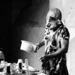 Performance de Paul McCarthy. Photographe Georges Poncet