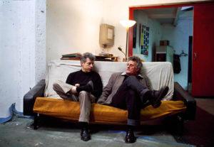 Patrice Giorda et Gérard Mordillat, 2008 photographe Georges Poncet