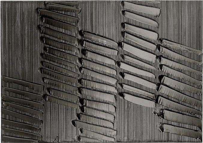 Soulages, étude n°01, photographe Georges Poncet