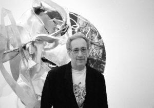 Frank Stella, 1991, photographe Georges Poncet